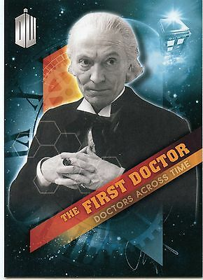 2016 Topps BBC Doctor Who Timeless Doctors Across Time 13 Card Insert Set!!!
