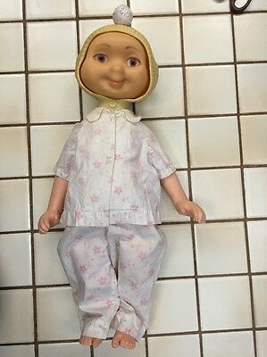 Vintage Hedda Get Bedda Doll Whimsie 3 Faces Smile Cry Sick 1960 American Toy