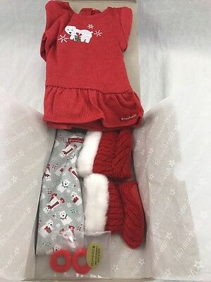 "American Girl ""Playful Polar Bear Pajamas"" -  NIB -"
