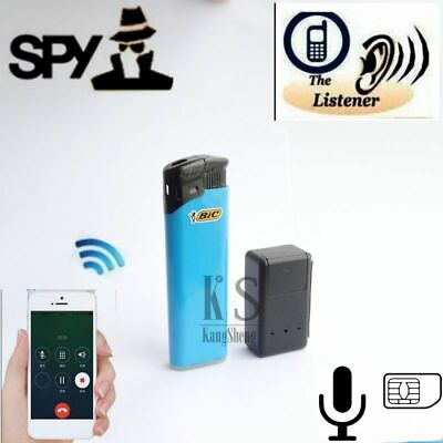 N10 Quad Band Mini Spy Room Bug Remote Voice Surveillance Listening Device GSM