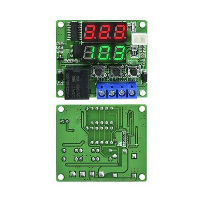 1PCS DC 12V Dual LED  Multi-function Cycle Timer Relay Module Delay Time Switch