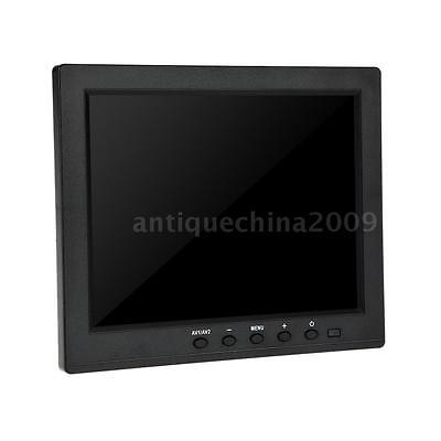 "8"" inch 4:3 TFT LCD Monitor Screen AV VGA Video Audio for PC CCTV Security V5G0"