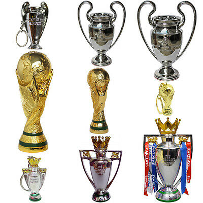 2017 Resin Gold/Silver Football Soccer EPL English League Cup Trophy Medals T1
