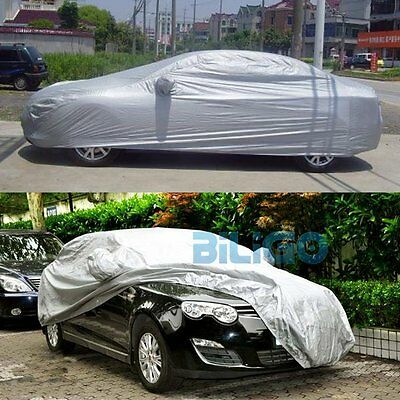 Universal Full-size Car Cover UV Resistant Water Sun Dust Dirt Protection【AU】