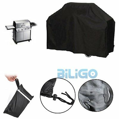 4 Burner Waterproof Anti-UV BBQ Cover Gas Charcoal Barbeque Grill Protector【AU】