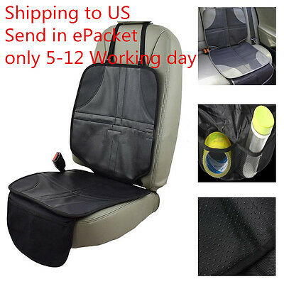 Infant Baby Child Easy Clean Anti-slip Car Seat Protector Mat Cushion Cover lc