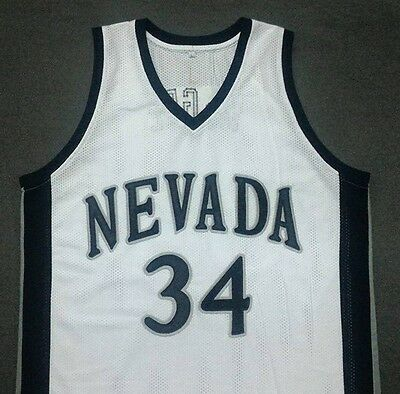 JaVale McGee Nevada University White College Basketball Jersey Gift Any Size
