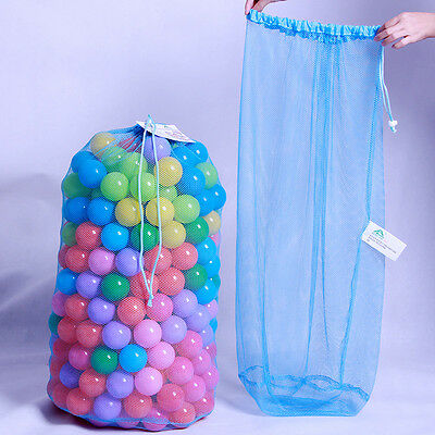 Kids Ball Pit Balls Storage Net Bag Toys Organizer for 200 Balls Without ball