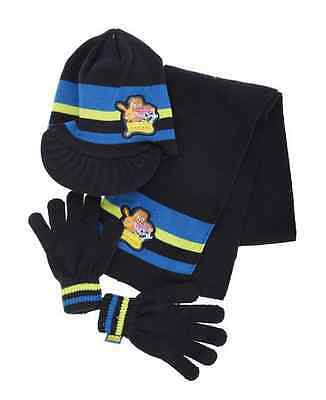 Boys Moshi Monsters Navy Hat, Scarf & Gloves Set Style 2140530