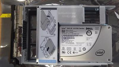 "Dell 800GB SATA 6Gbs 2.5"" LFF Caddy DT8XJ Gen 12 R720 R620 MD1200 INTEL DC S3700"