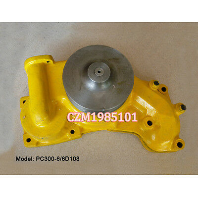 Water Pump 6222-63-1200 Fits For KOMATSU Engine S6D108 Excavator PC300-6 PC340-6