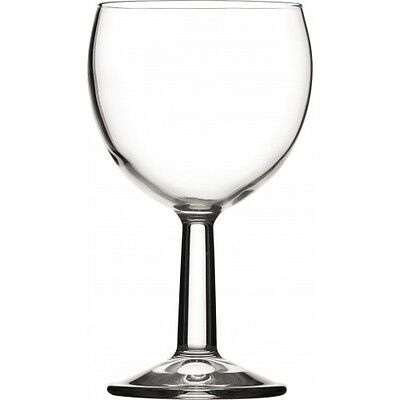 Banquet Wine Glass 6.66oz Lined 125ml Box of 12 Government Stamped Wine Glasses