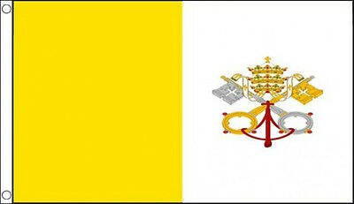 VATICAN CITY FLAG 3' x 2'  Italy Italian Flags