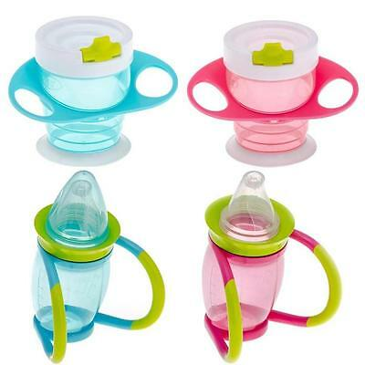Brother Max Baby Sippy Cup Trainer Bottle Handles Spout Toddler Drinking First