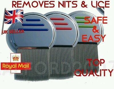 steel head & tooth lice nit free Terminator comb gets down to the NITTY GRITTY