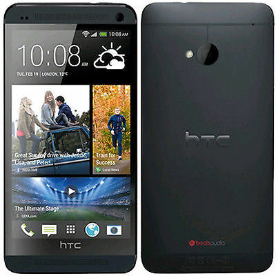 HTC One M7 - 32GB 3G GPS WIFI Unlocked 4.7'' Android Brand New Smartphone BLACK