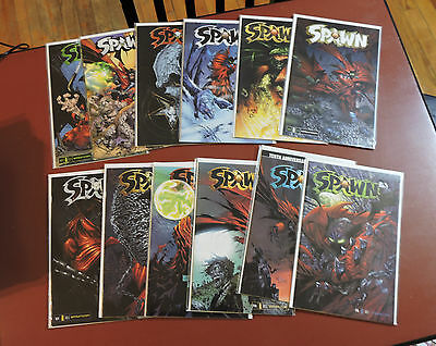 Spawn 116 117 118 119 120 121 122 123 124 125 126 127 NM unread low print run!