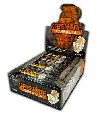 Grenade Carb Killa Bar 12 x 60g Protein Bars