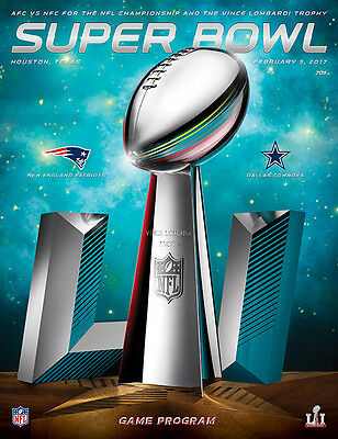 NFL Super Bowl 51 Official Stadium Edition Programme 2017 (Free Postage)