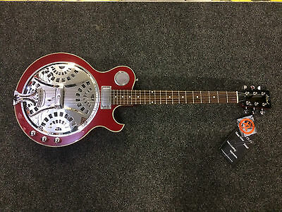 Alden JT Thinbodied Resonator Electric Guitar