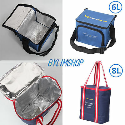 6/12 CAN Thermos Travel Picnic Lunch Camping Insulated Cooler Cool Hamper Bag AY