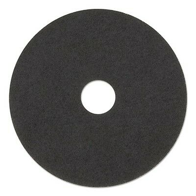 "Boardwalk Standard 12"" Diameter Stripping Floor Pads - 4012BLA"