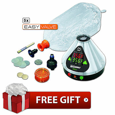 Storz & Bickel Digital Volcano Vaporizer Easy Valve With Free Gifts Included