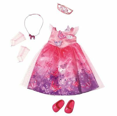New Zapf Baby Born Deluxe Wonderland Dress Set Doll Outfit & Acessories