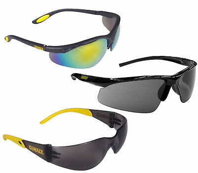 DeWalt Mens/Womens Reflective/Mirror Sunglasses Protective Safety Glasses - x1