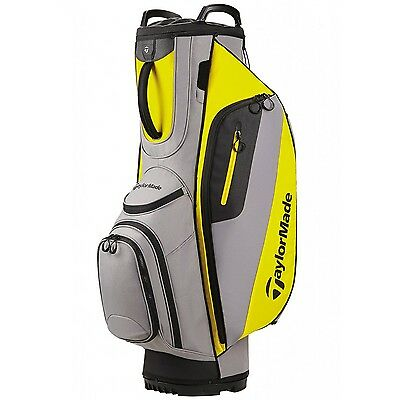 TaylorMade 2017 Cart Lite Golf Bag Grey/Yellow NEW 8524