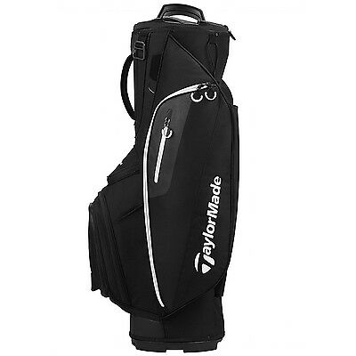 TaylorMade 2017 Cart Lite Golf Bag Black NEW 8525