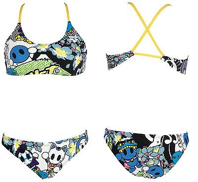 Woman Swimsuit Costume Donna Piscina Due Pezzi Arena W Manga Two Pieces 2A668