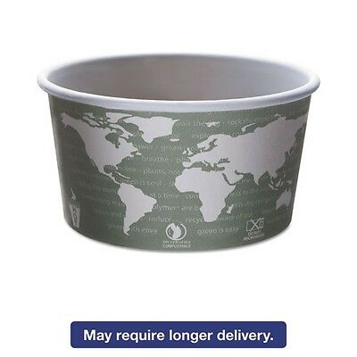 Eco-Products World Art Renewable & Compostable Food Container - EPBSC12WA