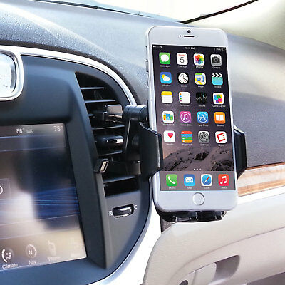 New Car Vent Clip install Cell Phone Stand for Apple iPhone 7 Plus 6 Cradle Kit