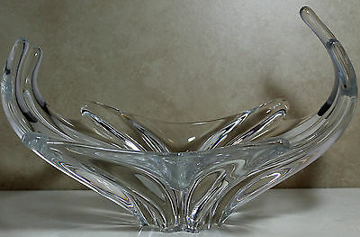 Baccarat Crystal Centerpiece Bowl, 109550901 - Octopus, 9H - $1200 V Mint NO BOX
