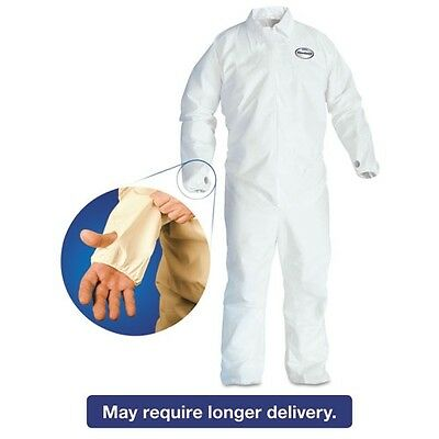 KleenGuard A40 Breathable Back Coverall with Thumb Hole - 42526