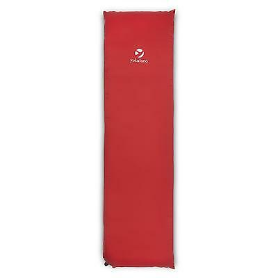 Camping Beach Picnic Sleep Pad Red Self Inflatable Mattress * Free P&p Uk Offer