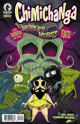 Chimichanga: Sorrow of the World's Worst Face (2016) #2 VF Eric Powell