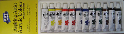 Art Color Acrylic - 12 x 12ml Tube Set - Daler Rowney