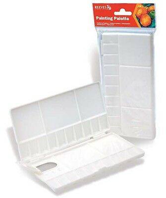 Reeves Artists Folding Palette - Sm - Ideal for Watercolour Painting