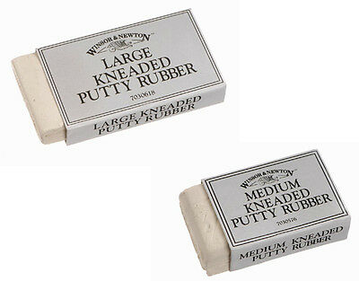 Winsor & Newton Kneaded Eraser / Putty Rubber - Medium or Large sizes