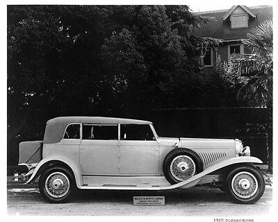 1929 Duesenberg ORIGINAL Factory Photo oad9713