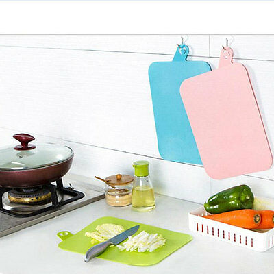 Practical Heat Resistant Silicone Hanging Chopping Cutting Board Kitchenware