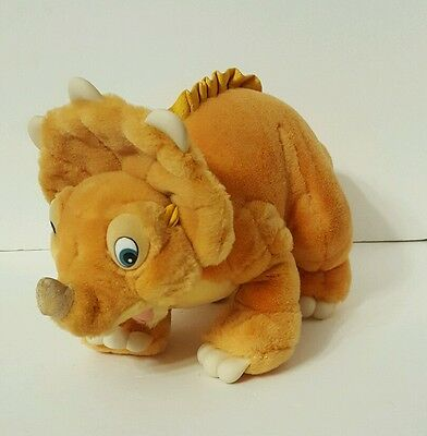LAND BEFORE TIME Cera Triceratops Plush Stuffed Animal Toy JCPenney Amblin 1988