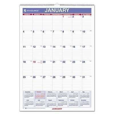 At-A-Glance 2018 Monthly Wall Calendar - PM228