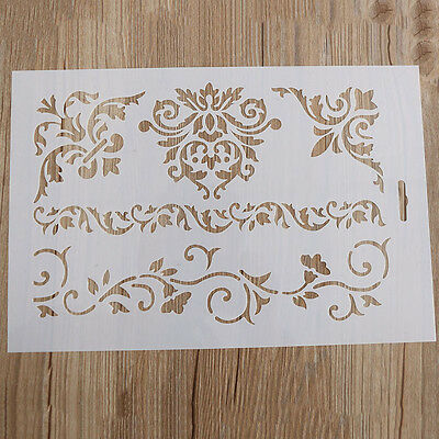 NEW Flower Flower Layering Stencils Scrapbooking Embossing Paper Cards DIY Craft