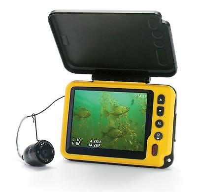 "Aqua-Vu AV Micro 3.5"" Plus DVR-DT with Depth & Temperature Underwater Camera"