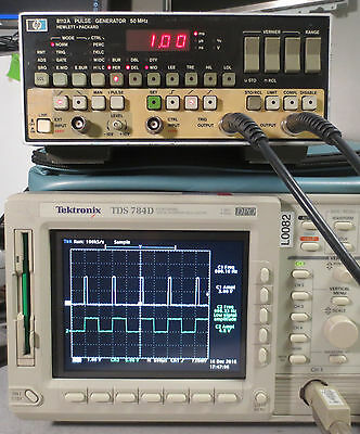 HP 8112A 50MHz Pulse Generator