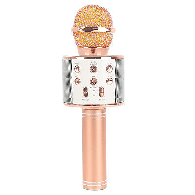 WS-858 Microphone Wireless Handheld Portable Karaoke for Tablet PC Smartphone