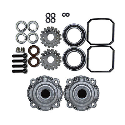 Alloy Diff Gear Case Set For Hpi Rovan KM Baja 5B 5T 5SC